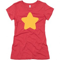 Women's Gold Star Costume Tee