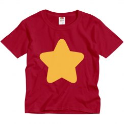Kids Gold Star Universe Costume Tee