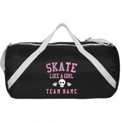 Custom Derby Glitter Gym Bag