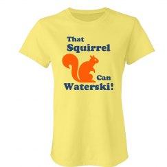 That Squirrel Waterski!