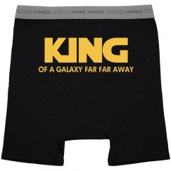 King Of A Galaxy Far Far Away