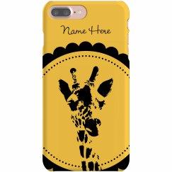 Custom Giraffe iPhone
