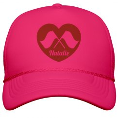 Band Camp Color Guard Love Neon Hat for Summer