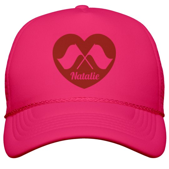 Band Camp Color Guard Love Neon Hat for Summer Neon Snapback Trucker Hat   This Mom Means Business! 725a32616c3f