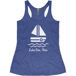 It's a Lake Day Custom Comfy Racerback