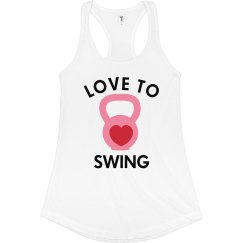 Love to Swing Kettlebell