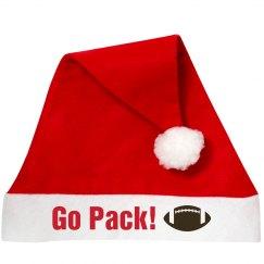 Go Team Santa Hat