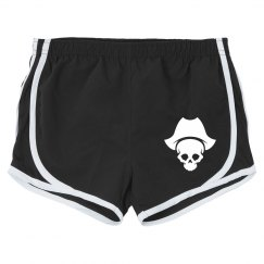 Buccaneers Ladies Custom Athletic Shorts