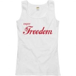 Enjoy Freedom Red