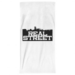 Real Street Beach Towel