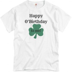 St Patricks Day Birthday