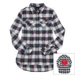 Fairest of Them All Flannel