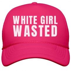 Spring Break White Girl Wasted Hat