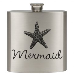 Mermaid Beach Flask Her Captain