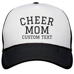 Customizable Cheer Mom Hat