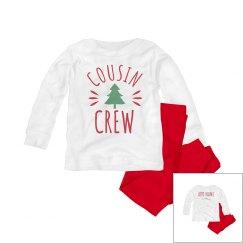 Custom Cousin Crew Christmas PJs