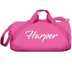 Custom Name Dance Bag For Teens