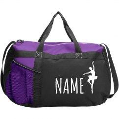 Custom Name Ballet Dance Bag
