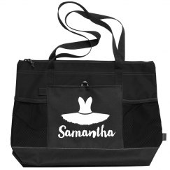 Custom Name Dance Bag Ballet