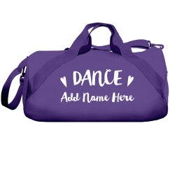 Custom Name Cute Dance Bag