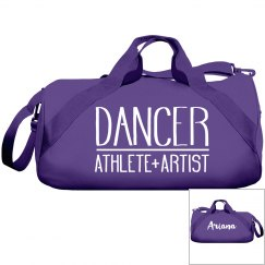 Dance Bag With Custom Name On Back