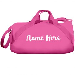 Custom Name Duffel Bag