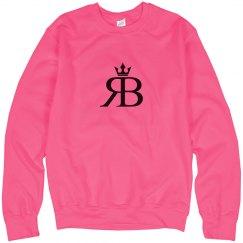 Red Bottoms Neon Pink Sweatshirt