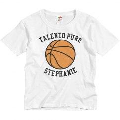 Youth Basketball Tee