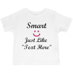 "Smart like ""your text"""