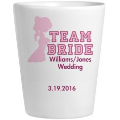 Team Bride Bridemaid Pink