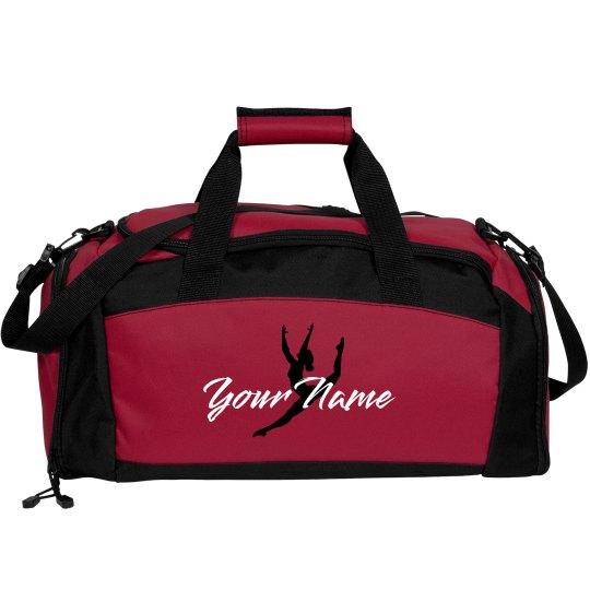 e9aa6a5065 Custom Dance Bag Pink Port   Company Gym Duffel Bag