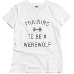 I'm Training To Be A Werewolf