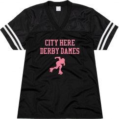 Roller Derby Dames Jersey