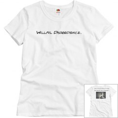 Willful Disobedience T-shirt