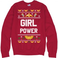 Girl Power Christmas Ugly Sweater