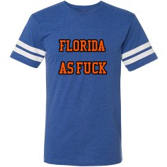 Florida as Fuck unisex vintage sport t-shirt