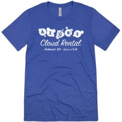 Azure Cloud Rental Tee Vintage Royal