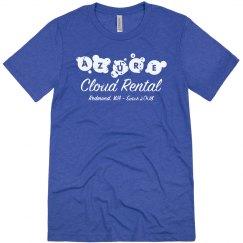 Azure Cloud Rental Tee Vintage Royal