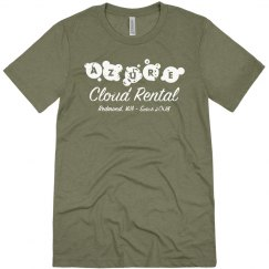 Azure Cloud Rental Tee Olive Triblend