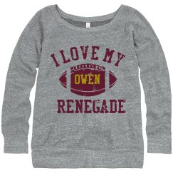 Renegade scoop sweatshirt