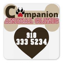 LMM #185 companion animal clinic magnet