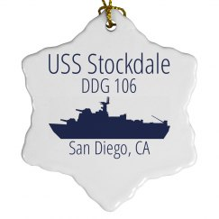 Stockdale Snowflake Ornament