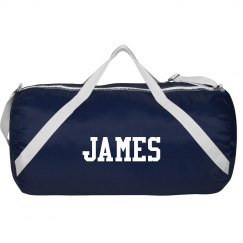 James sports roll bag