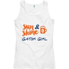 Sunshine & Beer Gator Girl