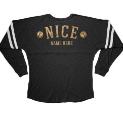 Custom Your Name Nice With Bells Long Sleeves T-Shirt