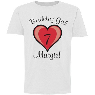 7th Birthday Shirt