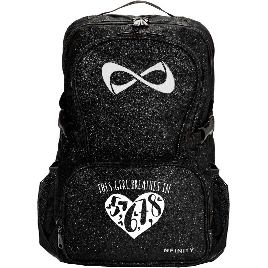 8 Count Dance Glitter Nfinity Bag