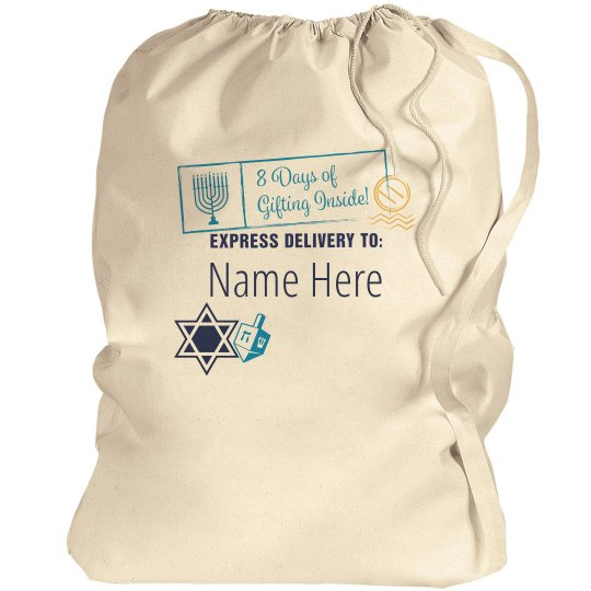 8 Days Of Giving Hanukkah Bag