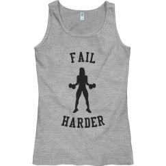 Fail Harder Workout Tank