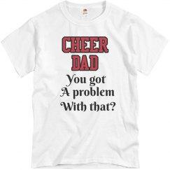 Cheer Dad Tee